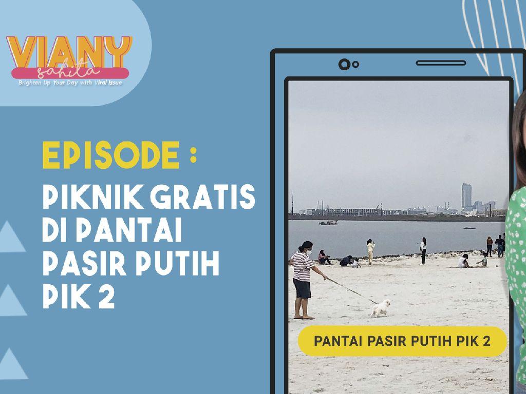 Viral, Pantai Pasir Putih Ala Miami Beach Florida di PIK 2 Jakarta
