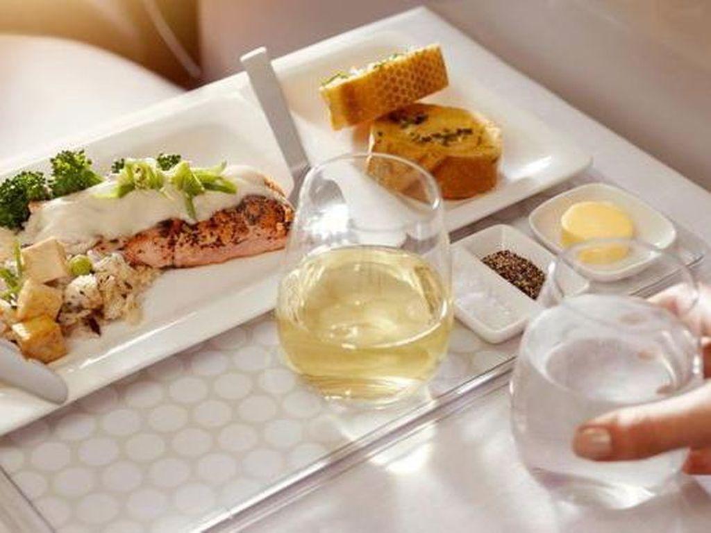 10 Makanan Pesawat Termewah di Dunia, Dari Negara Mana Saja?