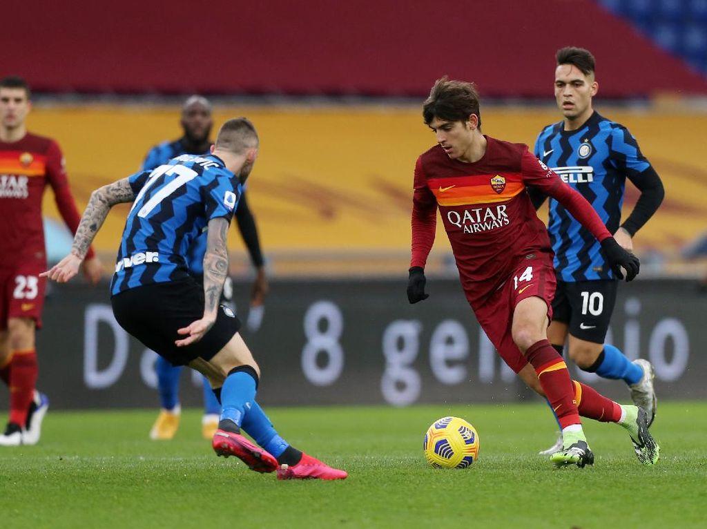 9 Fakta Duel Roma Vs Inter yang Tuntas 2-2