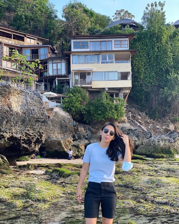Athira Farina tengah berlibur santai/instagram.com/athirafarina