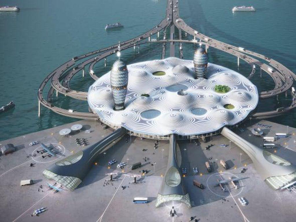 Ini Konsep Bandara Antariksa di Jepang