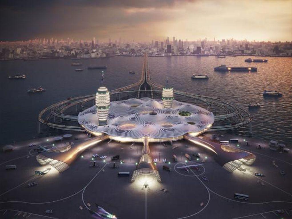 Ini Spaceport City, Bandara Antariksa di Jepang