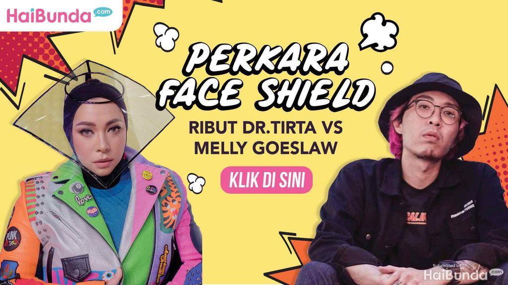 Banner dr.Tirta vs Melly Goeslaw