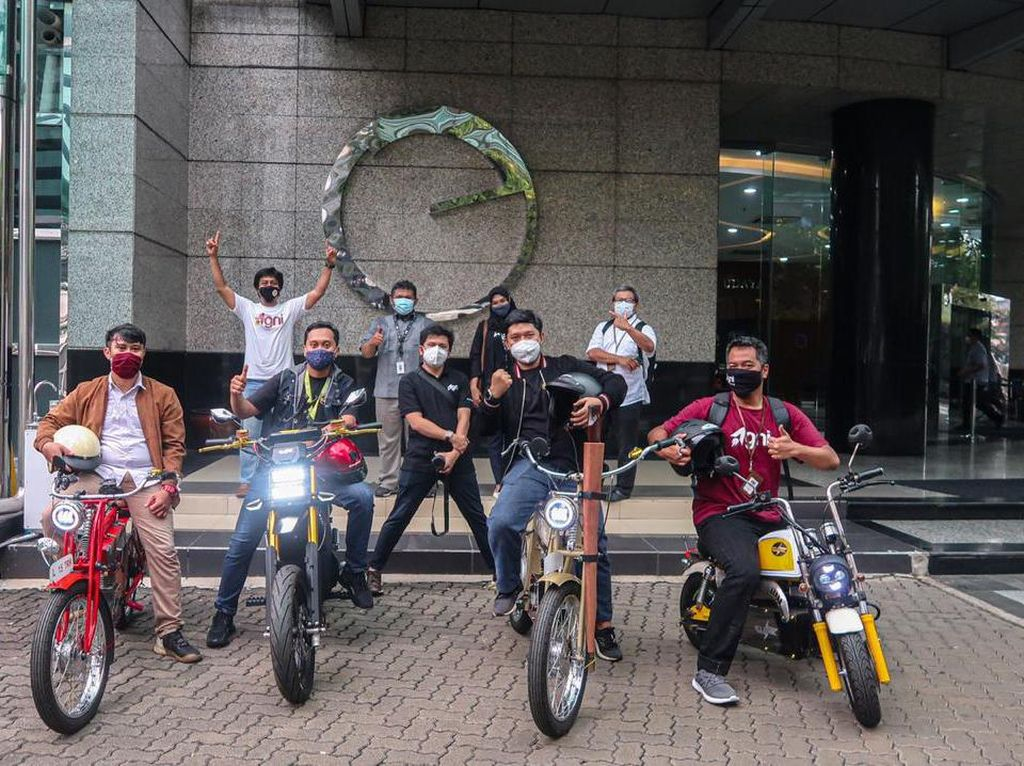 Motor Listrik Anak Bangsa: Supermoto Hingga Motor Imut Ala Honda Monkey