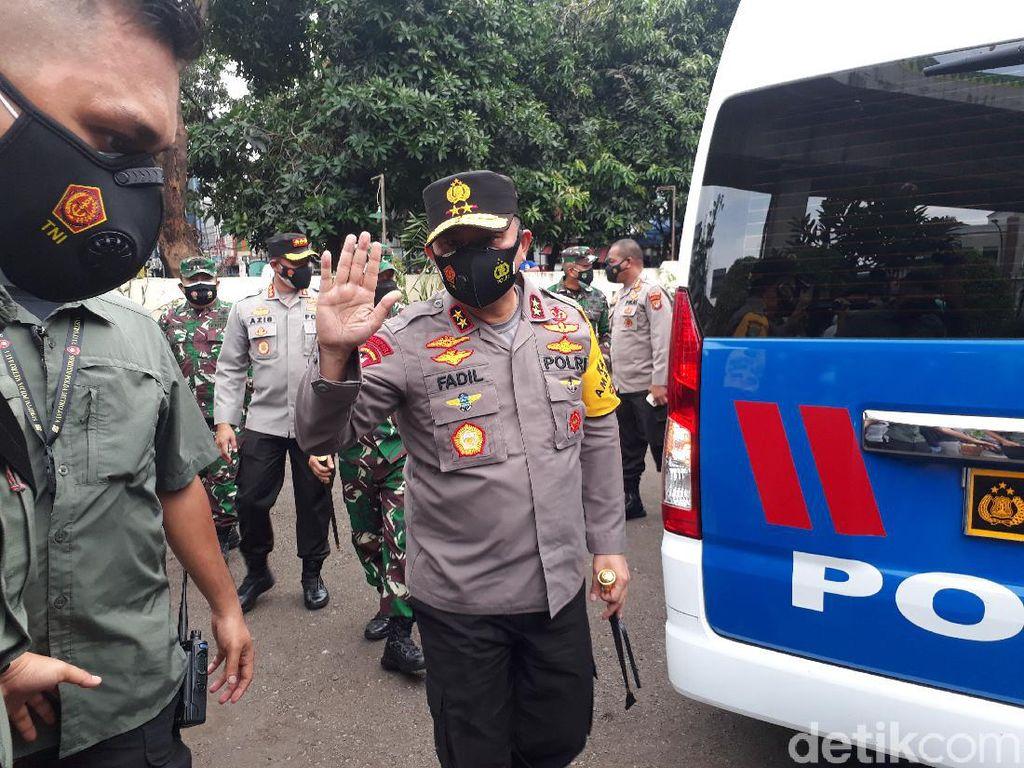 Kapolda Metro-Pangdam Jaya Cek Kampung Tangguh di Kebayoran Baru
