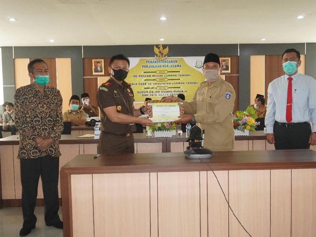 120 Lebih Kades di Lombok Tengah Dikawal Jaksa untuk Kelola Keuangan
