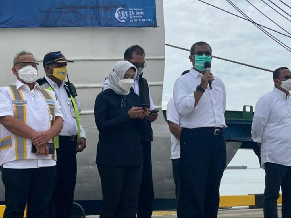 Pelayaran Perdana Kapal Roro Awali Beroperasinya Pelabuhan Patimban
