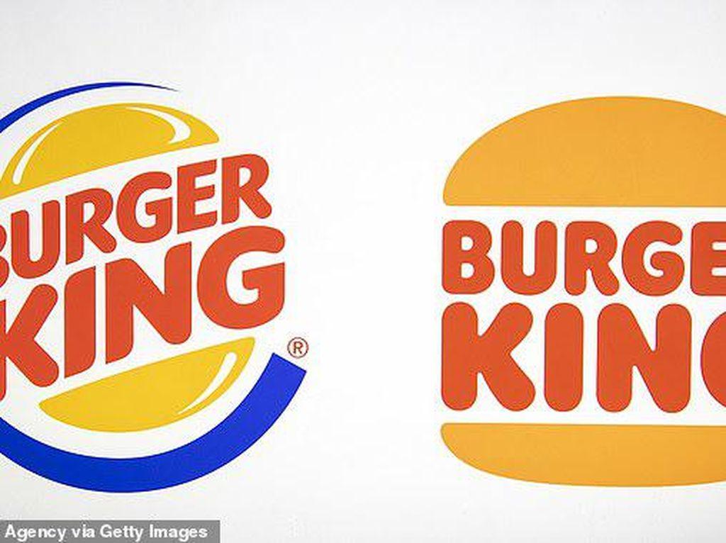 Logo Burger King Diganti Setelah 20 Tahun, Netizen Berdebat di Media Sosial