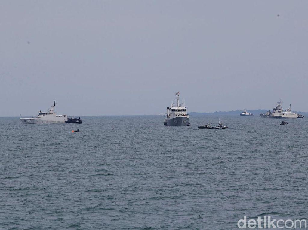 TNI AU Sebut Kondisi Air Laut di Sekitar Jatuhnya Sriwijaya SJ182 Membaik