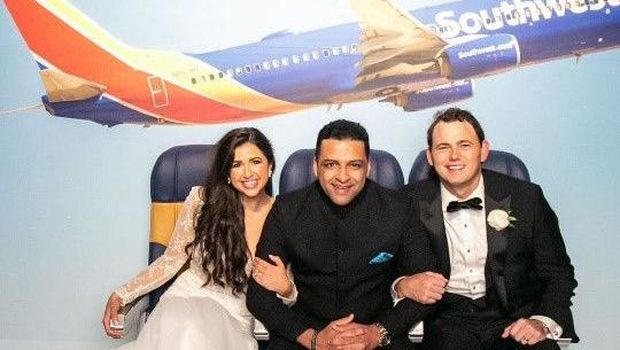 Pasangan ketemu jodoh di pesawat Southwest Airlines