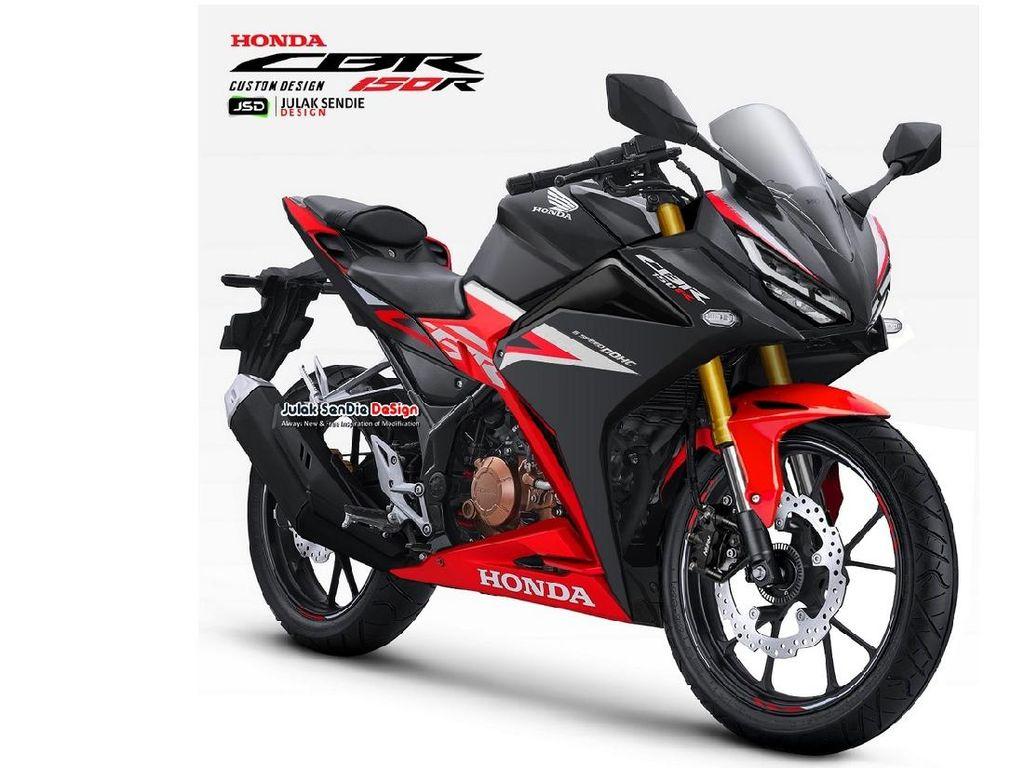 All New Honda CBR150R Dikabarkan Segera Meluncur, Inikah Desainnya?