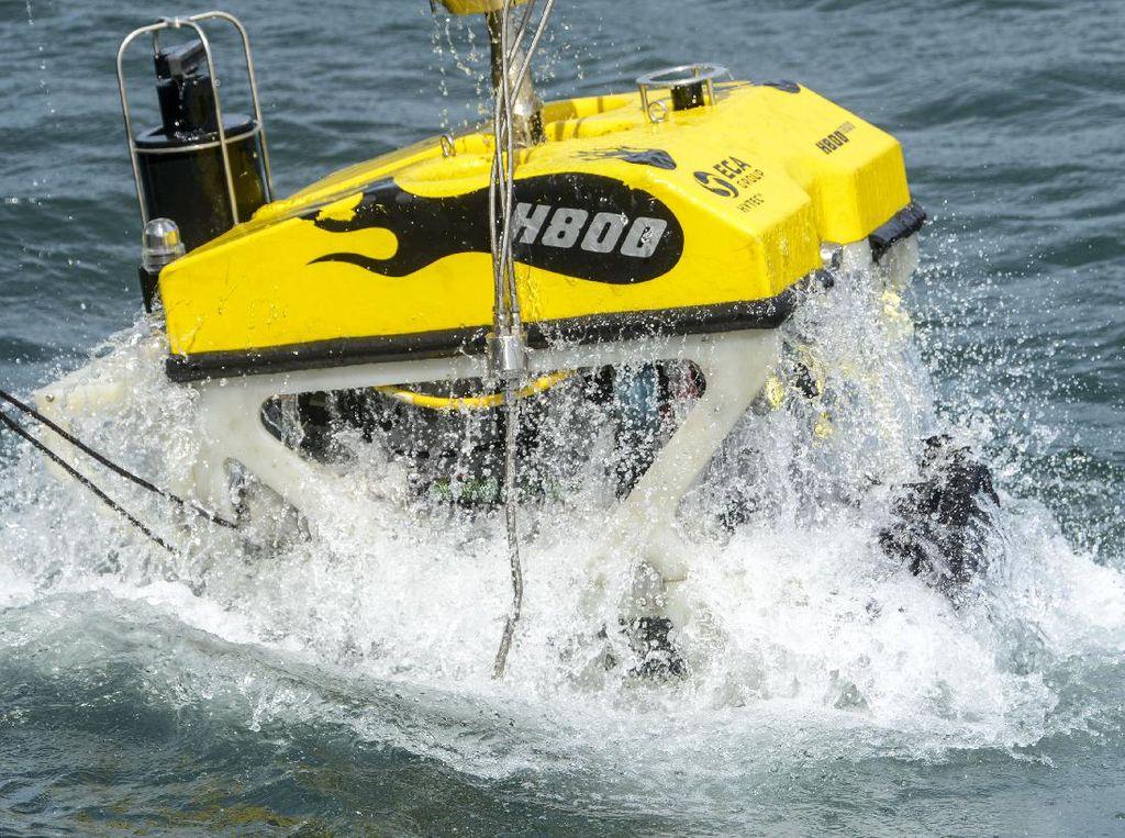 Ini ROV, Robot Bawah Laut Pencari Puing Sriwijaya Air SJ182