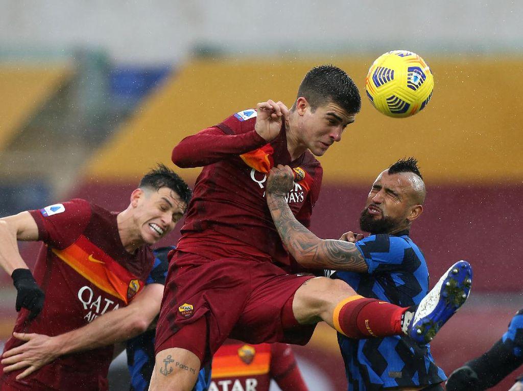Roma Vs Inter: Serigala Mestinya Bisa Lebih Menggigit