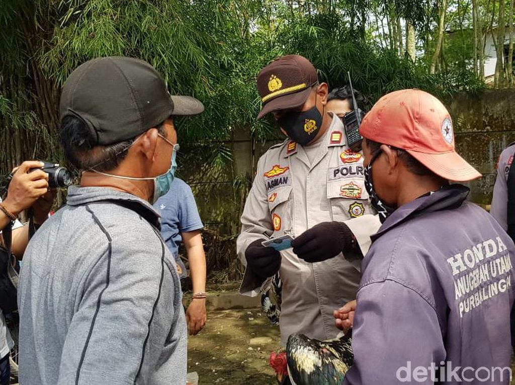PPKM Purbalingga: Perbatasan Disekat-Penjual Ternak Luar Kota Dilarang Masuk