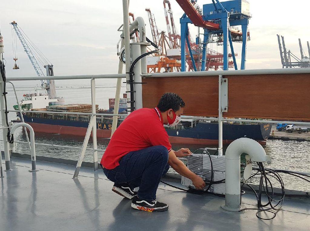Telkomsel Perkuat Jaringan di Titik Evakuasi Sriwijaya Air SJ-182