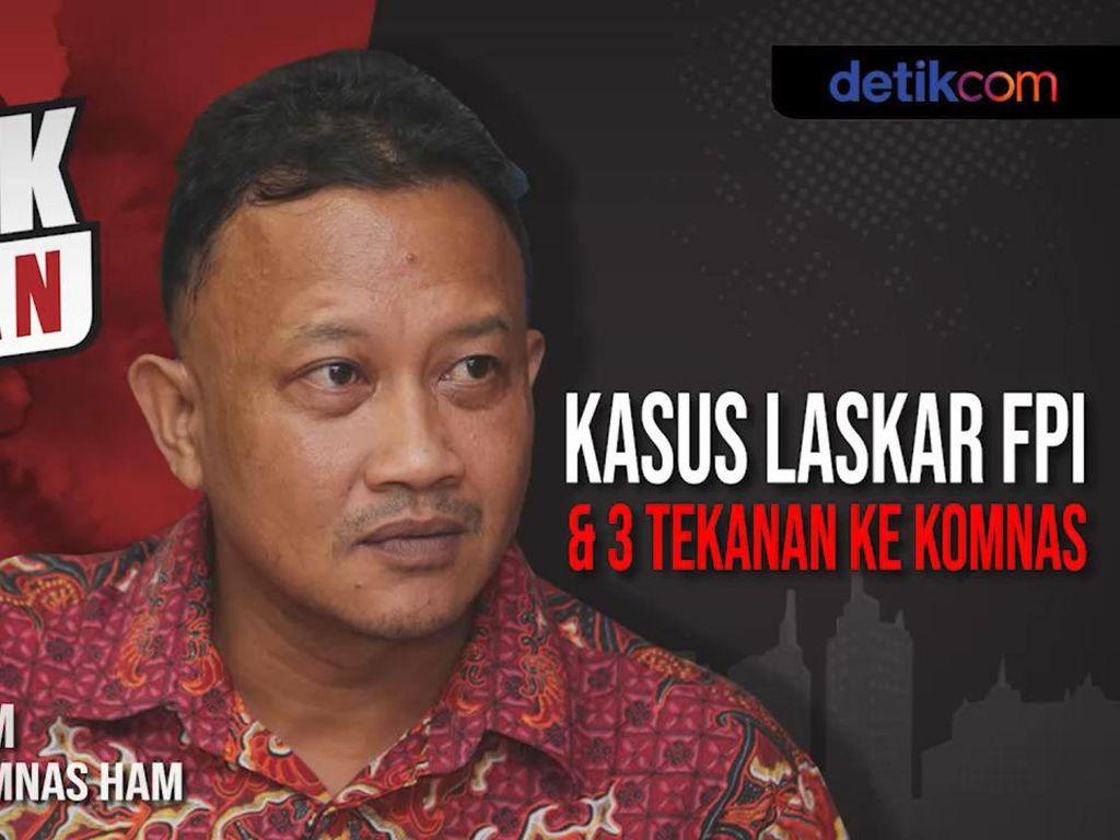 Blak-blakan Komnas HAM Ungkap Penembakan Laskar FPI di KM 50