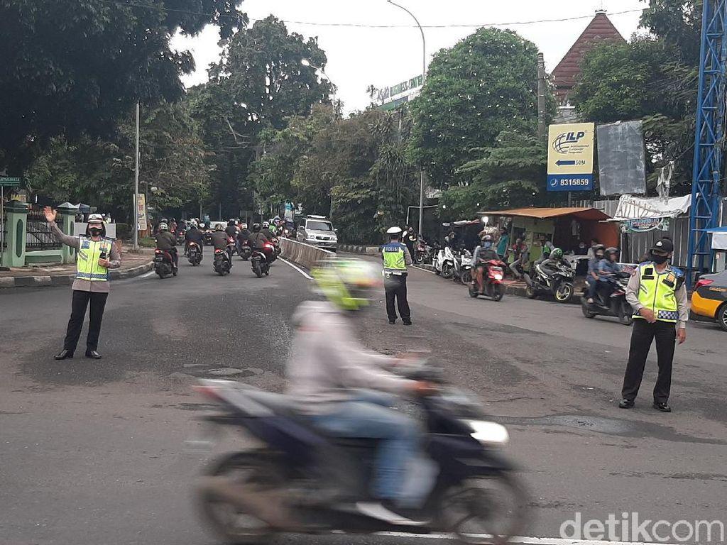 Jadi Pusat Kerumunan, Jalan Sudirman Bogor Ditutup Selama 2 Pekan