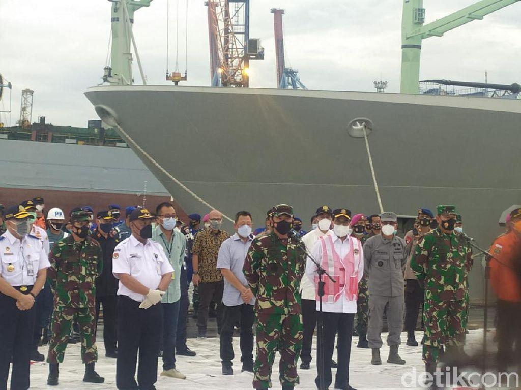 Panglima TNI Ungkap Awal Mula Penemuan FDR Black Box Sriwijaya Air