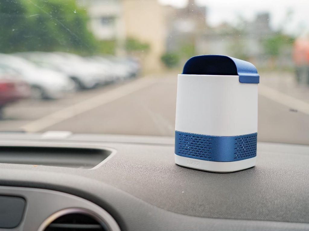Luft Duo, Air Purifier Portable Lumpuhkan Corona di Udara