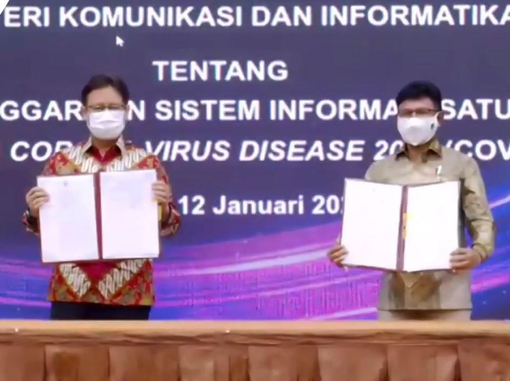 Menkominfo-Menkes Terbitkan SKB Satu Data Vaksinasi COVID-19