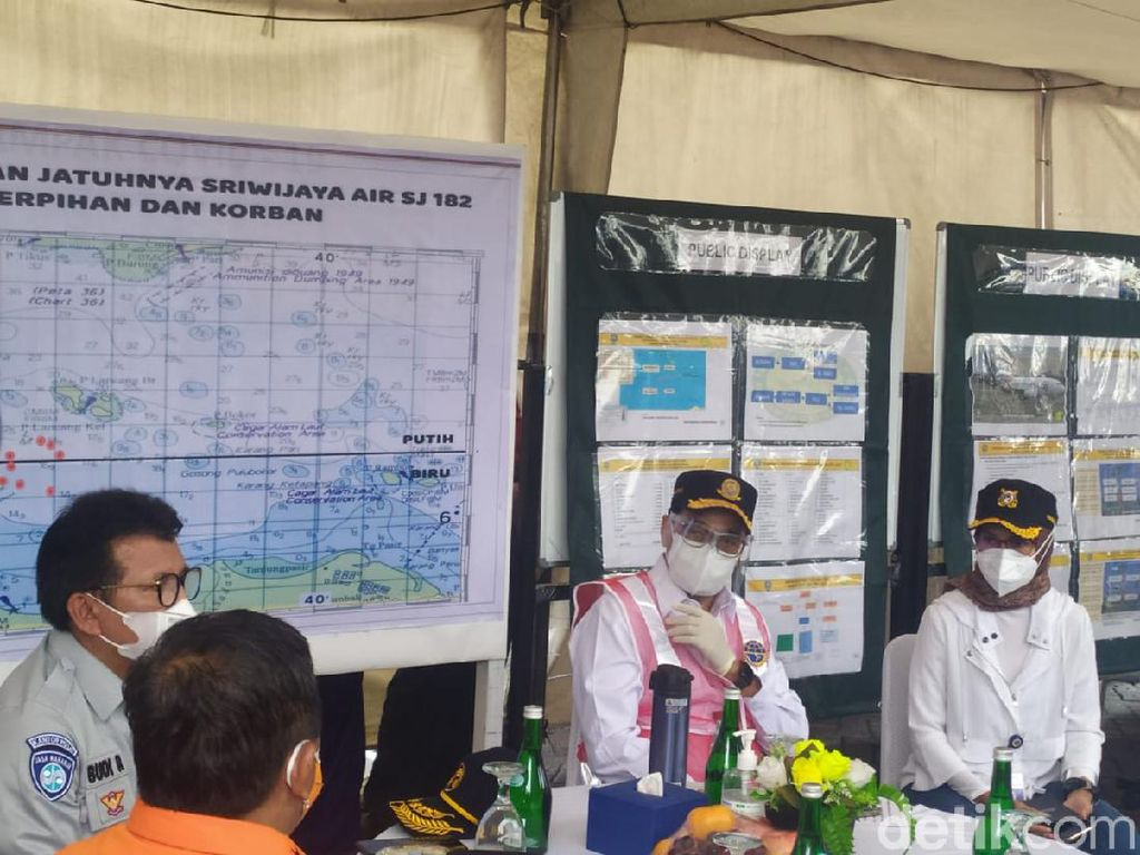 Black Box Sriwijaya Air SJ182 Ditemukan, Menhub Merapat ke JICT 2