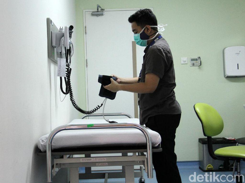 Penampakan Ruang Vaksinasi COVID-19 di Rumah Sakit UI