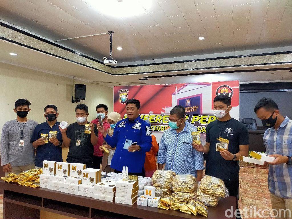 Waspada Bund, 17 Ribu Kosmetik Ilegal Siap Edar Digagalkan di Makassar