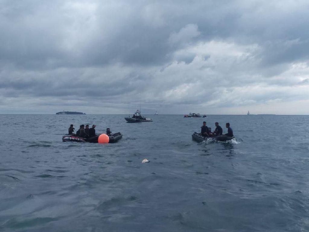 Hari Ke-4 Pencarian, Begini Situasi di Lokasi Jatuhnya Sriwijaya Air SJ182