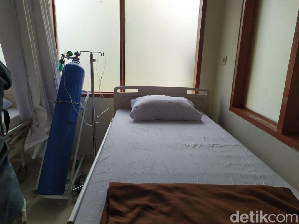 Ruang Isolasi di RS Darurat Secapa AD Masih Tersedia