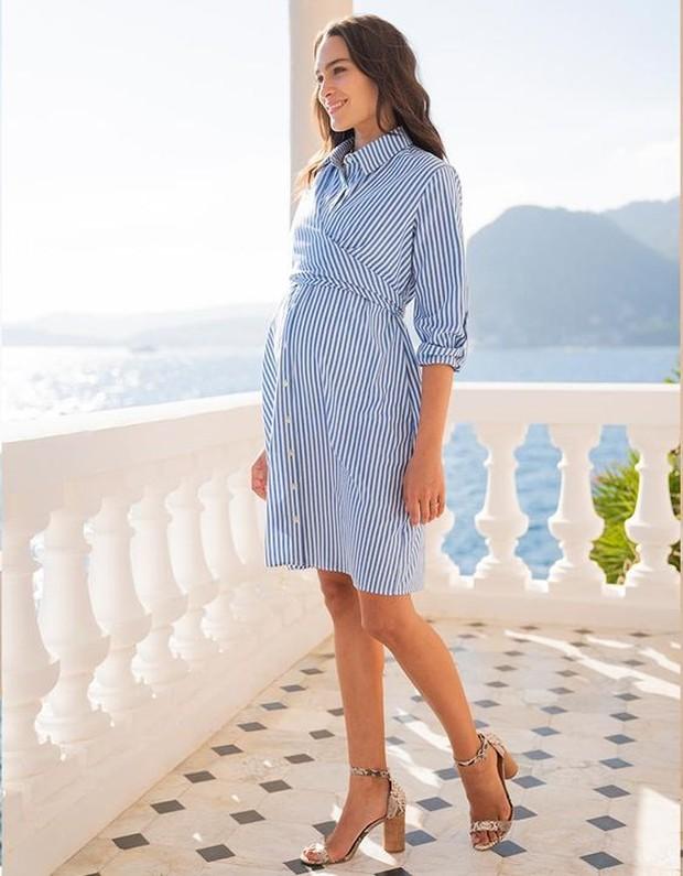 Shirt dress bisa jadi pilihan cantik untuk kesan santai