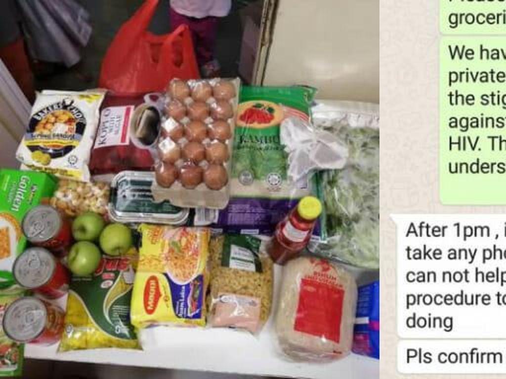 Tempat Pasien HIV/AIDS Ini Tolak Donasi Makanan Demi Lindungi Pasien