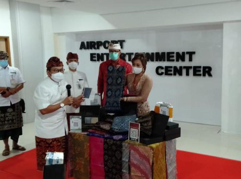 Banting Setir Bikin Masker, UMKM Kain Tenun Bali Ekspor ke 50 Negara