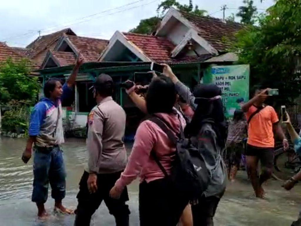 Bukan Settingan, Ini Pemicu Warga Tantang Bupati Jombang soal Banjir