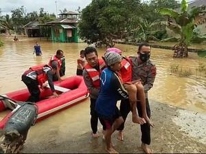 Banjir Rendam Kalsel Berhari-hari, Lebih dari 20 Ribu Orang Dievakuasi