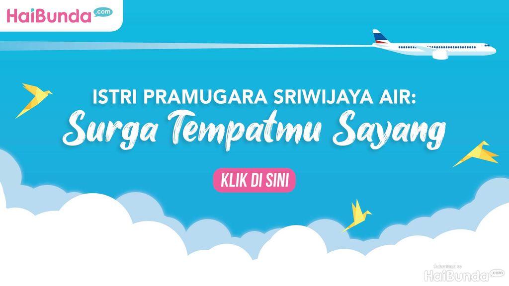 Banner Pramugara Sriwijaya