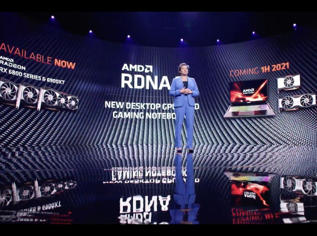 GPU AMD RDNA 2 untuk Laptop Bakal Hadir Pertengahan 2021