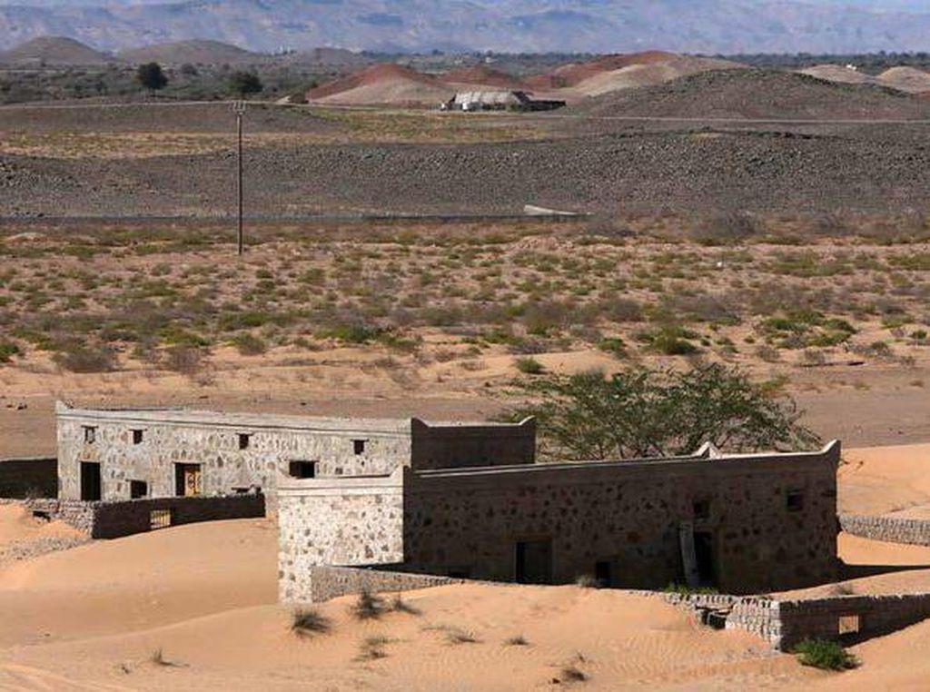 Foto: Desa yang Hilang di Oman, Muncul Lagi ke Permukaan