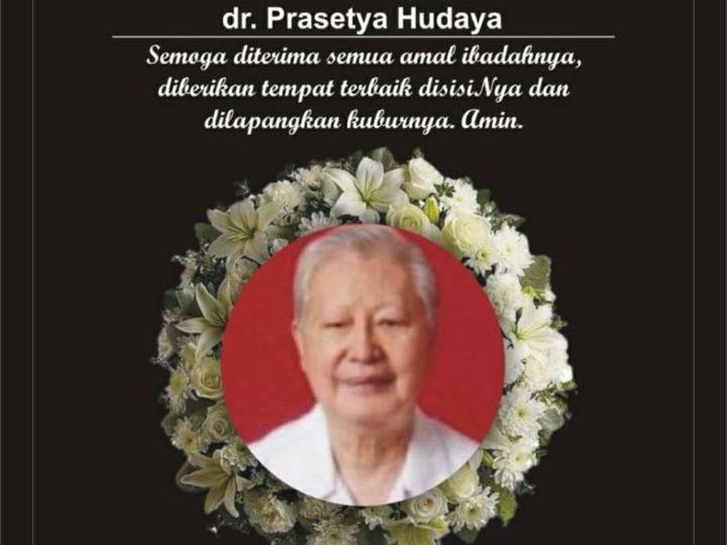 Kisah dr Prasetyo Gugur karena Corona, Terus Layani Pasien Saat Pandemi
