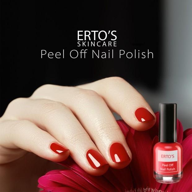 Erto's Peel Off Nail Polish/Sumber:instagram.com/ertos