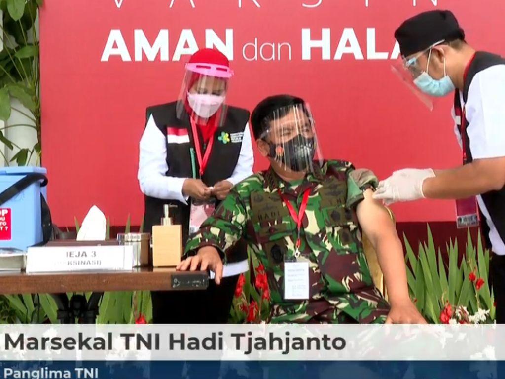 Panglima TNI: Hoax Hambat Pemenuhan Target Vaksinasi Covid-19
