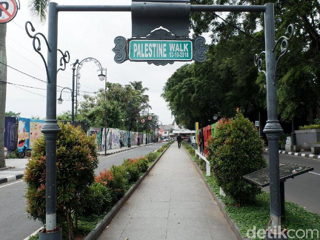 Hanya Ada Dua Palestine Walk di Asia, Salah Satunya di Bandung