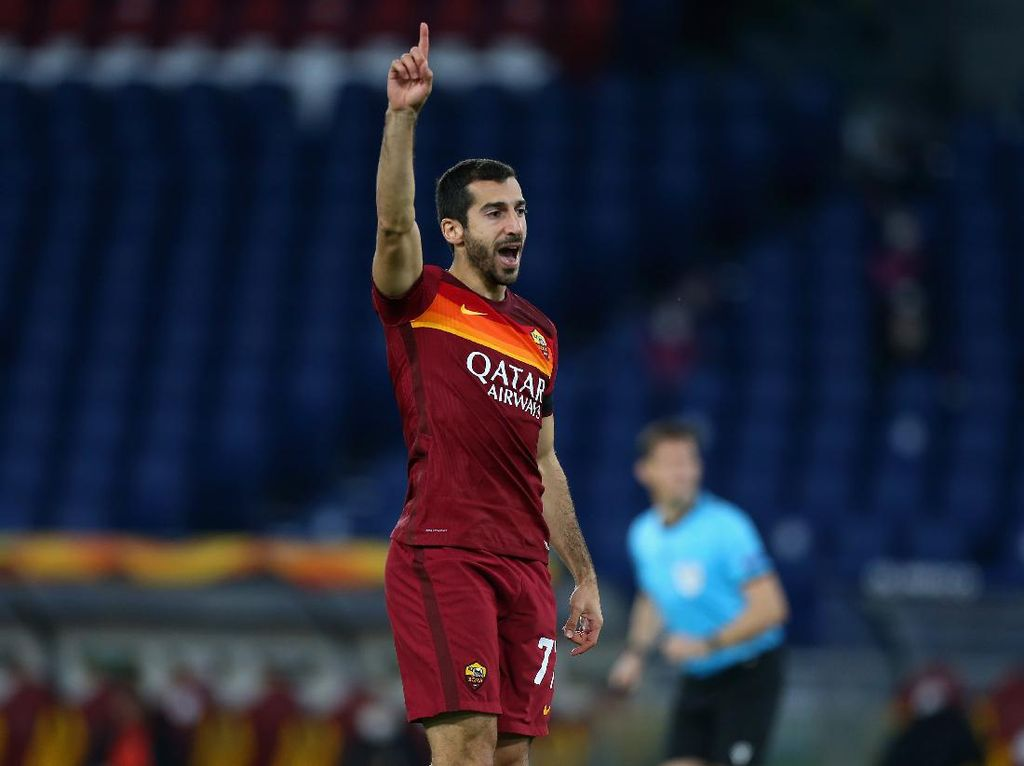 Mkhitaryan Semangat Menyambut Derby Roma Pertamanya