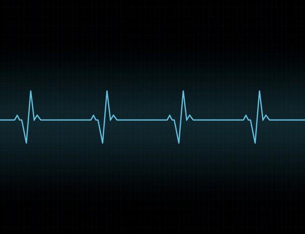 Ilustrasi detak jantung