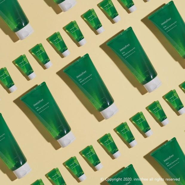 Innisfree Aloe Revital Soothing Gel/Sumber:instagram.com/innisfreeindonesia