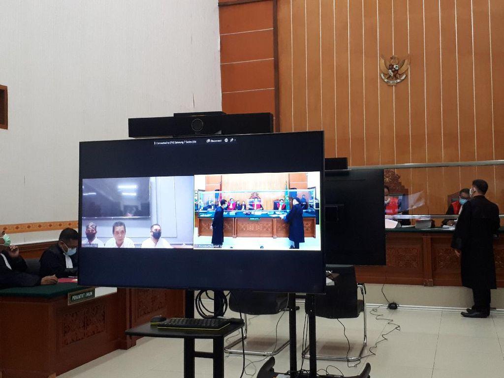 John Kei Hadiri Sidang Perdana Kasus Penyerangan Secara Virtual