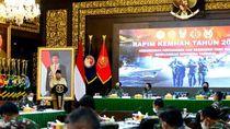 Gelar Rapim, Menhan Prabowo Sampaikan 9 Kebijakan Pertahanan di 2021