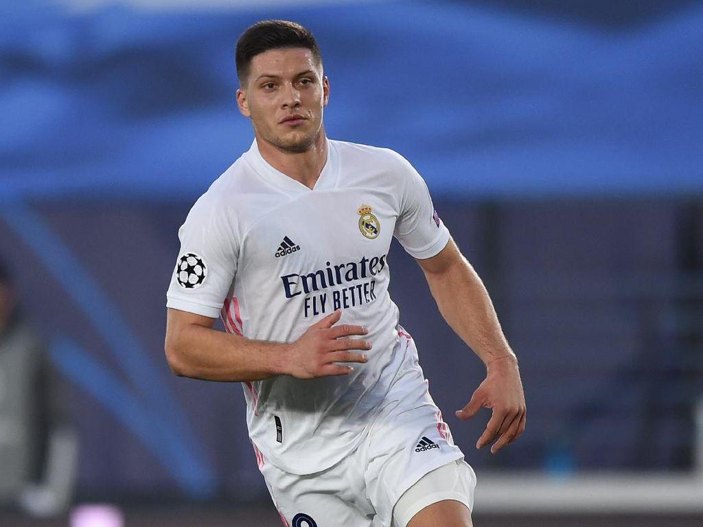 Real Madrid kembalikan Luka Jovic ke Frankfurt