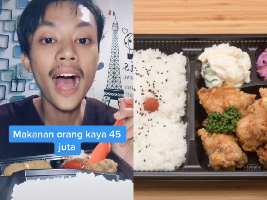 Makan Bento Rp 20 Ribuan, Pria Ini Ngaku Harganya Rp 45 Juta hingga Dihujat Netizen