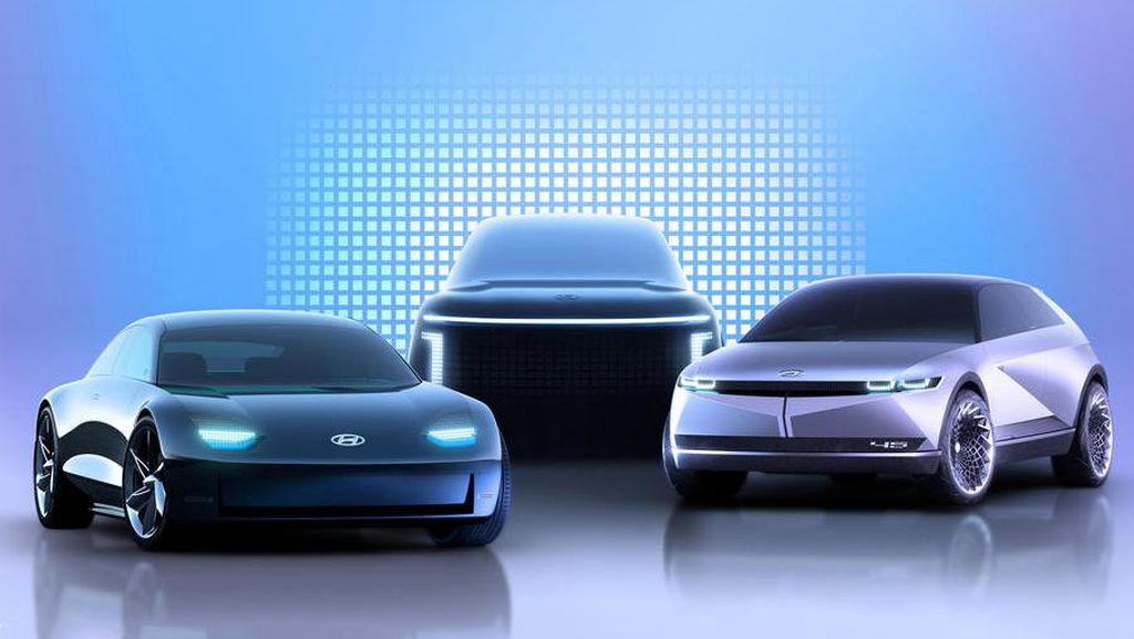 Ioniq 5 Bakal Dirilis Hyundai, Ini Penampakannya