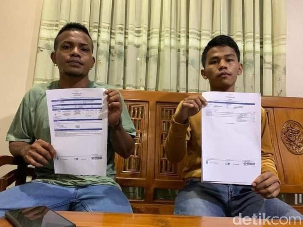 Yulius-Indra Cerita Batal Naik Sriwijaya Air SJ182 karena Tes Usap Mahal